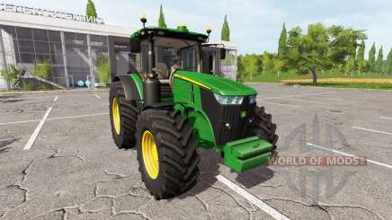 John Deere 7290R для Farming Simulator 2017