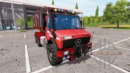 Mercedes-Benz Unimog wood для Farming Simulator 2017