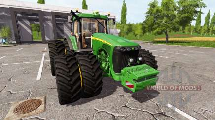 John Deere 8320 v2.0 для Farming Simulator 2017