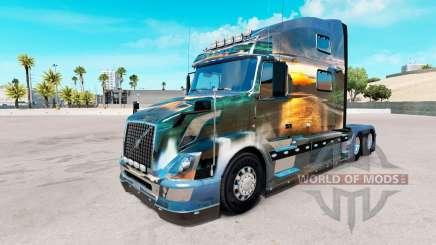 Скин Nature на тягач Volvo VNL 780 для American Truck Simulator