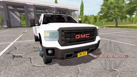 GMC Sierra 3500HD dually для Farming Simulator 2017