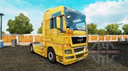 Скин Dirt на тягач MAN для Euro Truck Simulator 2