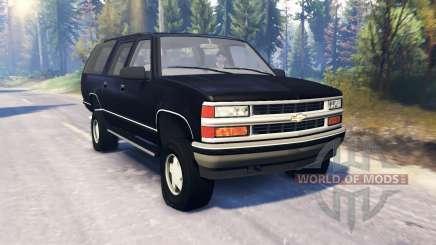 Chevrolet Suburban GMT400 v2.0 для Spin Tires