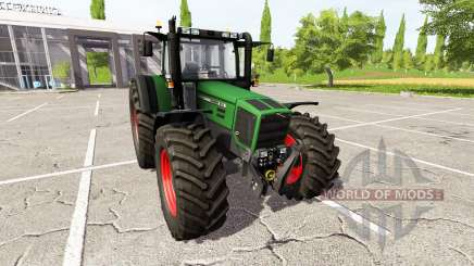 Fendt Favorit 818 v4.0 для Farming Simulator 2017