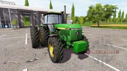 John Deere 4955 v2.0 для Farming Simulator 2017