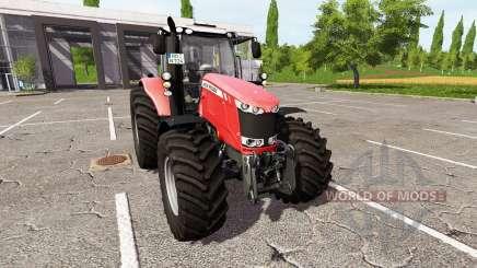 Massey Ferguson 6613 для Farming Simulator 2017
