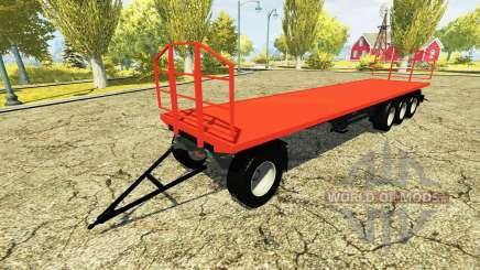 Cамонесущий прицеп для Farming Simulator 2013