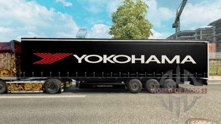Скин Yokohama на полуприцеп для Euro Truck Simulator 2