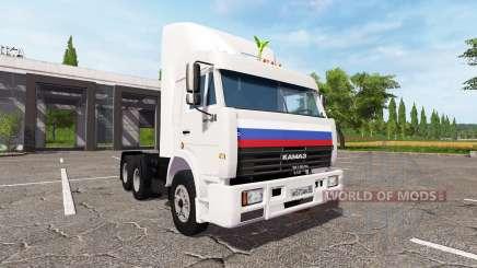 КАМАЗ-54115 v4.0 для Farming Simulator 2017