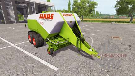CLAAS Quadrant 2200 RC для Farming Simulator 2017