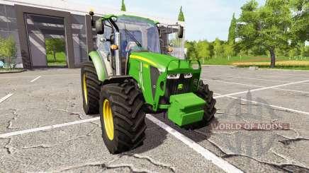 John Deere 5105M v3.0 для Farming Simulator 2017