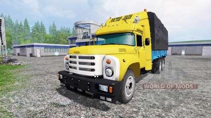 ЗиЛ-133 v2.0 для Farming Simulator 2015