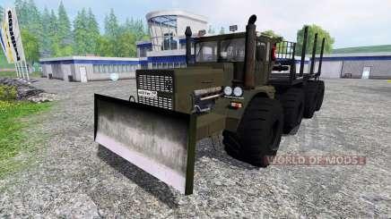 Кировец К-700А 8x8 для Farming Simulator 2015