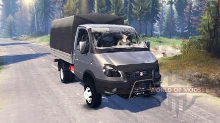 ГАЗ-33027 ГАЗель-Бизнес v2.0 для Spin Tires