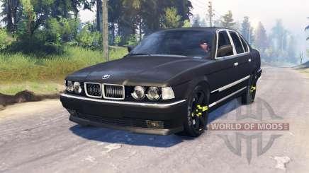 BMW 750Li (E38) v4.0 для Spin Tires