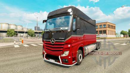 Mercedes-Benz Actros MP4 longline для Euro Truck Simulator 2