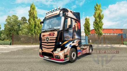 Скин Revaniko на тягач Mercedes-Benz для Euro Truck Simulator 2