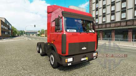 МАЗ-5432 v5.0.1 для Euro Truck Simulator 2