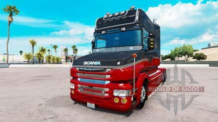Scania T v2.0 для American Truck Simulator