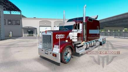 Kenworth W900B Long remix для American Truck Simulator