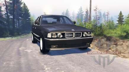 BMW 750Li (E38) v3.0 для Spin Tires