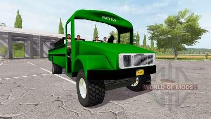 Freightliner Party Bus для Farming Simulator 2017