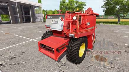 Massey Ferguson 620 v1.1 для Farming Simulator 2017