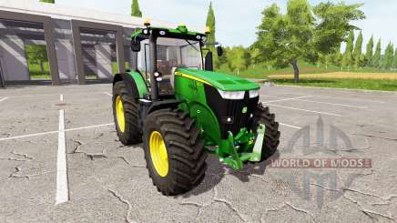 John Deere 7270R v2.0 для Farming Simulator 2017