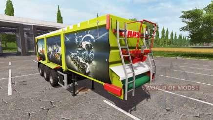 Krampe SB 30-60 claas design для Farming Simulator 2017