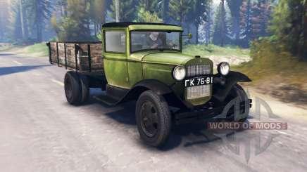 ГАЗ-ММ 1940 v2.0 для Spin Tires