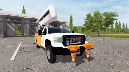 GMC Sierra 3500HD bucket для Farming Simulator 2017
