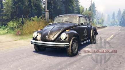 Volkswagen Beetle Custom v2.0 для Spin Tires