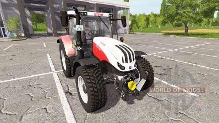 Steyr Multi 4135 Profi CVT ecotec для Farming Simulator 2017