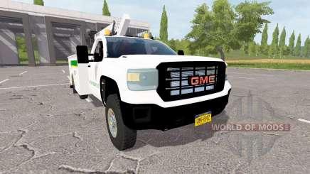 GMC Sierra 3500HD service для Farming Simulator 2017