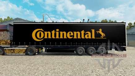 Скин Contiential на полуприцеп для Euro Truck Simulator 2