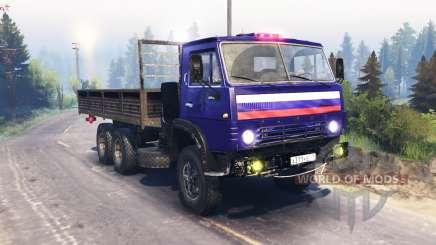 КамАЗ 53212 v8.0 для Spin Tires