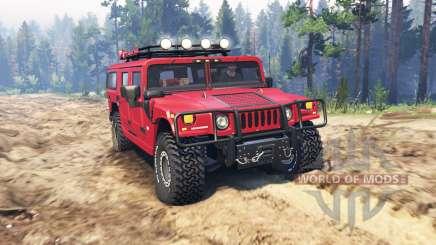 Hummer H1 v3.0 для Spin Tires