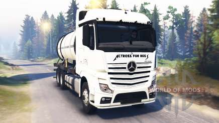 Mercedes-Benz Actros MP4 v2.0 для Spin Tires