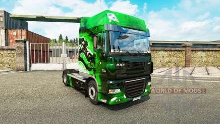 Скин Drake на тягач DAF для Euro Truck Simulator 2