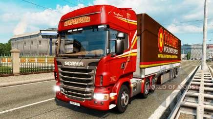 Скины для грузового трафика v2.0 для Euro Truck Simulator 2
