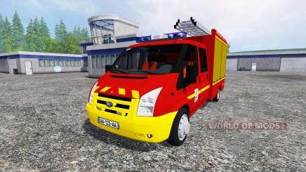 Ford Transit Double Cab VPI для Farming Simulator 2015