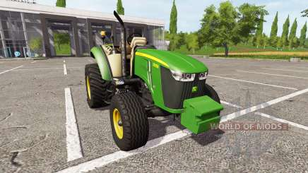 John Deere 5095M v1.1 для Farming Simulator 2017