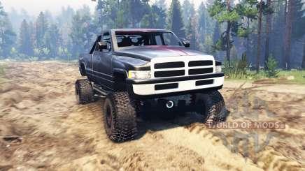Dodge Ram 1500 для Spin Tires