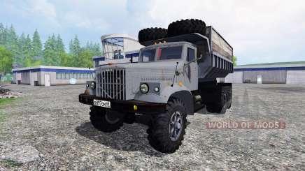КрАЗ-256Б для Farming Simulator 2015