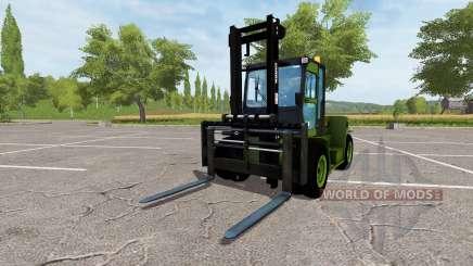 Clark C80D v2.0 для Farming Simulator 2017