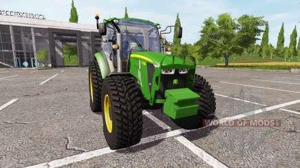 John Deere 5115M v1.5 для Farming Simulator 2017