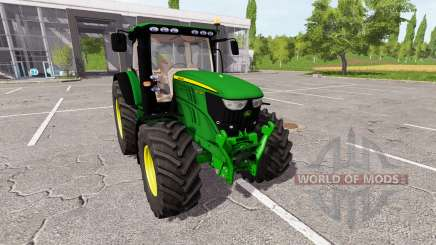 John Deere 6210R v0.9 для Farming Simulator 2017