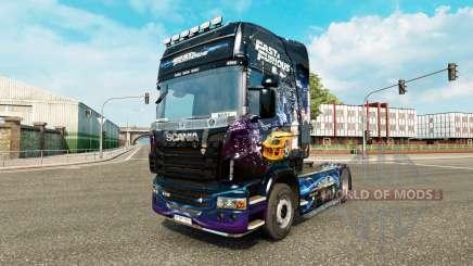 Скин Fast & Furious на тягач Scania для Euro Truck Simulator 2