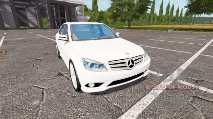 Mercedes-Benz C350 для Farming Simulator 2017