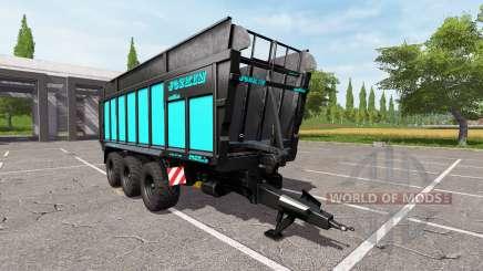 JOSKIN DRAKKAR 8600 blue black edition для Farming Simulator 2017